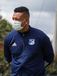 Alberto Gamero habló de los problemas de Fredy Guarín hoy.