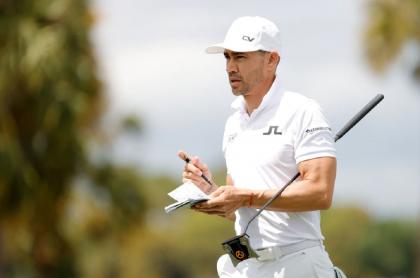 El antioqueño Camilo Villegas volvió a liderar un abierto de la PGA.