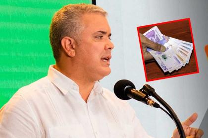 Iván Duque, presidente de Colombia, recientemente habló de sus medidas económicas.