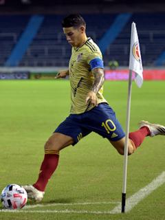 James Rodríguez.