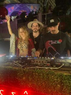 Videos: fiesta electrónica de Natalia París en Cartagena sin bioseguridad