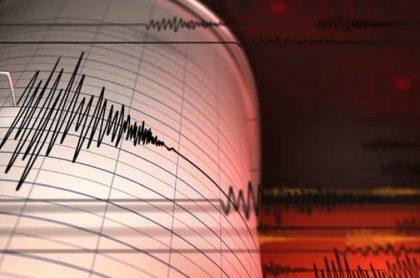 Temblor en Colombia hoy 2 de abril en Chocó de magnitud 4,8