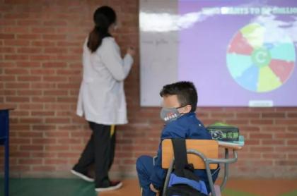 Clases presenciales en colegios públicos de Colombia