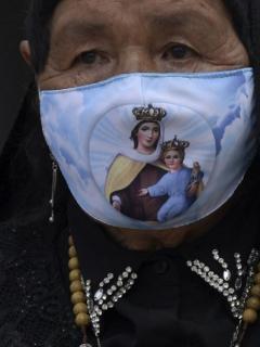 Imagen que ilustra los contagios con COVD-19 en América Latina.