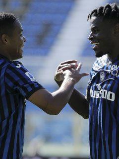 Video: goles de Luis Muriel y Duván Zapata con el Atalanta en Italia.