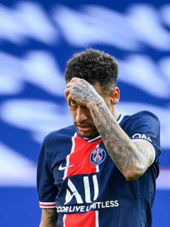 Video de Neymar expulsado hoy en el partido del PSG vs Lille.