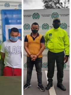 A prisión, presuntos responsables de 3 masacres, en Cauca, Sucre y Valle