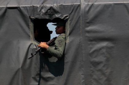 Imagen ilustrativa de la muerte de algunos militares venezolanos en la frontera con Colombia.