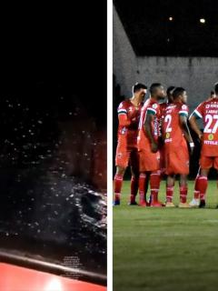 Video: jugadores de Patriotas de Boyacá fueron atacados por encapuchados