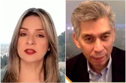Pelea de Vicky Dávila y Daniel Coronell por publicaciones en caso de Álvaro Uribe.