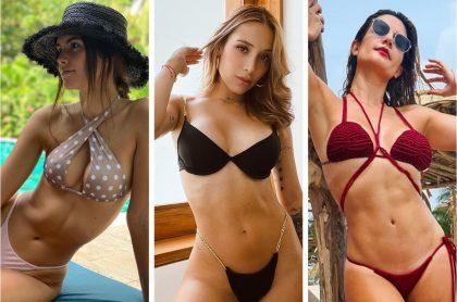 Fotos de Instagram de Paulina Vega, Luisa Fernanda W y Mabel Moreno, algunas de las famosas colombianas que posaron en traje de baño en vacaciones de Semana Santa.