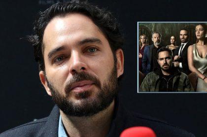 Manolo Cardona en 'La Negociadora' 2019 y en '¿Quién mató a Sara?' 2021, a propósito de que confirmó cuando sale la segunda temporada de esta serie de Netflix.