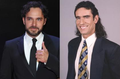 Manolo Cardona y Miguel Varoni, a propósito de la aparición que tuvo el protagonista de '¿Quién Mató a Sara?' en 'Pedro, es escamoso'.