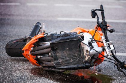 Imagen de moto que ilustra nota; motociclista murió en accidente con bus de SITP, en sur de Bogotá