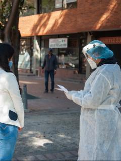 Imagen de Bogotá que ilustra nota; Claudia López dice que Bogotá vuelve a alerta naranja; decreta nuevas medidas