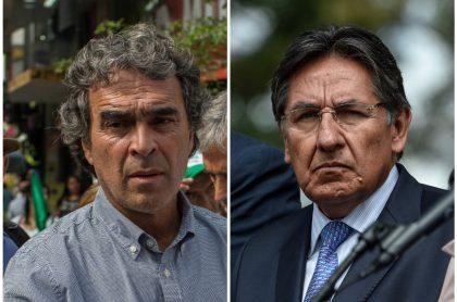 Sergio Fajardo, que le respondió a Néstor Humberto Martínez por decirle incompetente, y el exfiscal