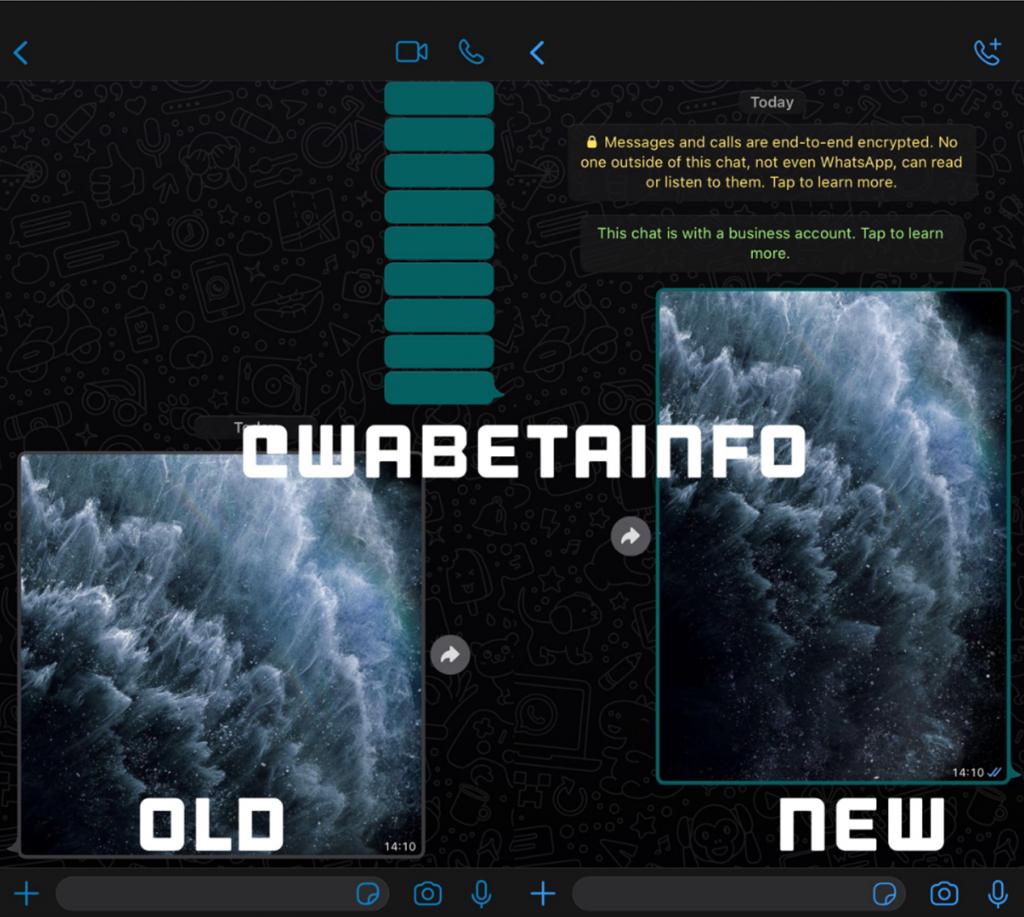 Captura de pantalla a Wabetainfo