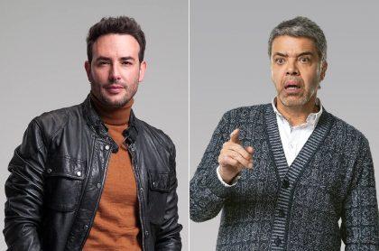 Sebastián Martínez y Luis Eduardo Arango en 'Pa' quererte' ilustran nota sobre avances de esa y otras novelas de RCN, de abril 5 al 9.