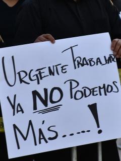 Bares piden flexibilidad de medidas como toque de queda en horario nocturno. Protesta del sector del entretenimiento en México, 2021. Imagen de referencia.