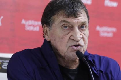 Julio Falcioni, contagiado de coronavirus a sus 64 años de edad. Imagen de referencia del entrenador.