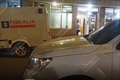 Imagen del sitio en donde encontraron muerto a un joven en un hotel de Bucaramanga