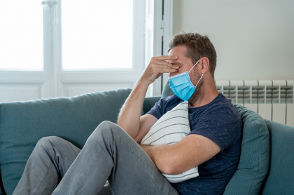 Los problemas psiquiátricos o neurológicos que dejaría el COVID-19 se presentarían al menos en los 6 meses siguientes al contagio.