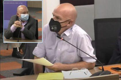 Mauricio Gómez, hijo de Álvaro Gómez, en un cara a cara ante la JEP con el exjefe guerrillero de las Farc 'Carlos Lozada'