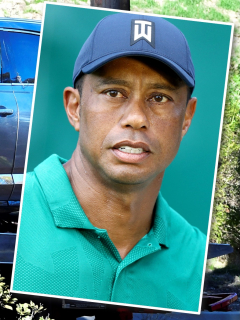 Tiger Woods: revelan la causa de su accidente de tránsito. Fotomontaje: Pulzo.