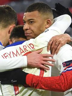 PSG vence al Bayern Múnich en Champions League; Kylian Mbappé y Neymar, figuras