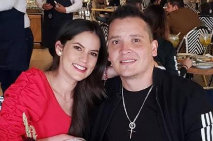 Linda Palma y Diego Pulecio, que se casaron