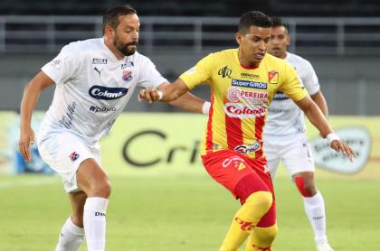 Pereira vs Medellin, partido en el que varios jugadores del Pereira estaban contagiados con coronavirus