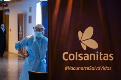 Los problemas con segundas dosis se presentaron principalmente en el Movistar Arena de Bogotá, con la EPS Colsánitas.