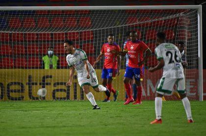La Equidad ganó 0-2 y clasificó a la siguiente ronda de la Copa Sudamericana