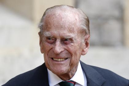 Príncipe Felipe, en julio de 2020.