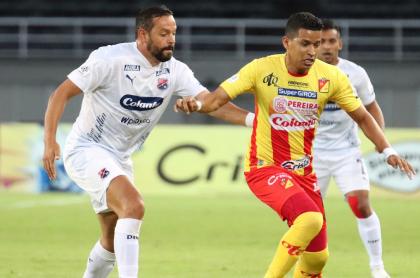 Partido Pereira vs Independiente Medellín, que fue demandado por el equipo antioqueño porque su rival jugó m con jugadores con coronavirus
