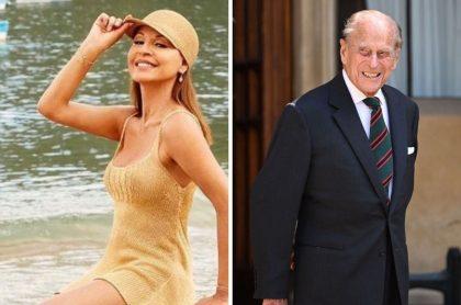 Amparo Grisales, quien se volvió tendencia luego de la muerte del príncipe Felipe