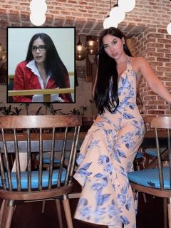 Fotomontaje de Aída Victoria Merlano y su mamá, Aída Merlano, a propósito de sus llamadas