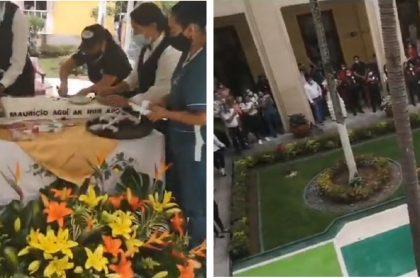 Diputado de Santander le acabó la masiva fiesta de cumpleaños al gobernador