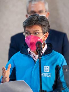 Bogotá hoy: Claudia López alerta por nueva variante en Bogotá.