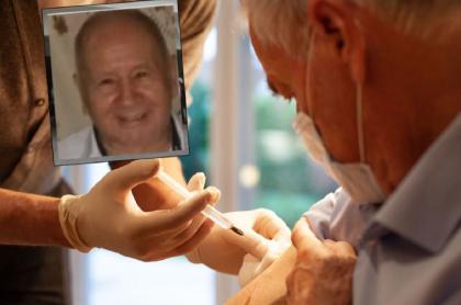 José María Guaraca Andrade, de 87 años, murió en hospital en Huila donde le aplicaron segunda dosis de vacuna Sinovac
