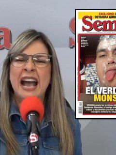 Vicky Dávila responde a portada de Semana que comparan con Q'hubo.