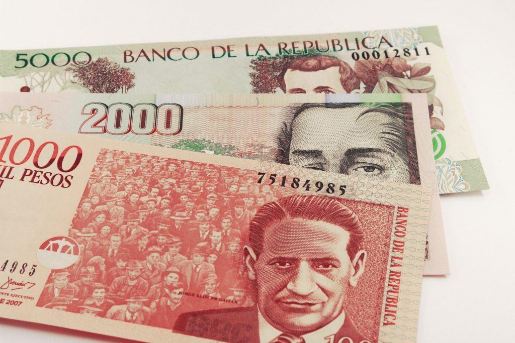 Billete de 1.000 pesos colombianos en honor a Jorge Eliécer Gaitán / Getty Images