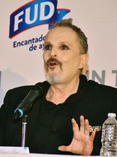 Miguel Bose en el Hotel St. Regis Hotel, Mexico, a propósito de la entrevista con Jordi Évole
