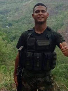 Julián Guillermo Ariza, soldado del Ejército que murió por impacto de un rayo