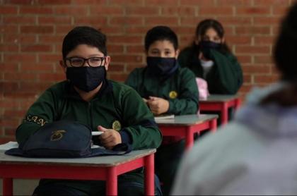 Imagen que ilustra el regreso a clases en Bogotá