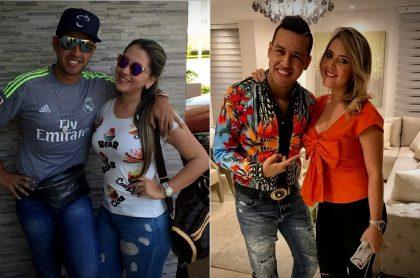 Martín Elías Díaz con su esposa Dayana Jaimes, a propósito de que ella habló de sueño que tuvo con él, qué heredó su hija del cantante y otras cosas en aniversario de muerte de él.