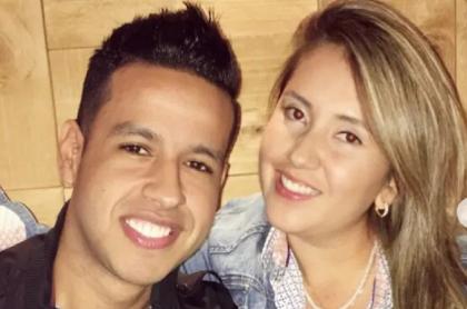Martín Elías y Dayana Jaimes, quien publicó un emotivo mensaje por los 4 años de la muerte del cantante