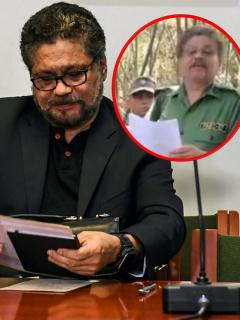 'Iván Márquez', que reapareció para decir que no atacan a Venezuela, sino a Colombia