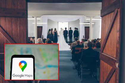 Matrimonio y Google Maps, ilustran nota de Hombre casi se casa con mujer equivocada por confiar en Google Maps, Indonesia