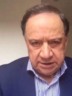 Senador Eduardo Enríquez Maya, quien murió por COVID-19